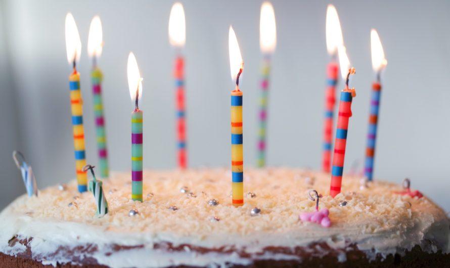 L'organisation et les détails d'un anniversaire pour enfant.